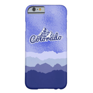 Colorado Mountains, Mosaic Barely There iPhone 6 Case