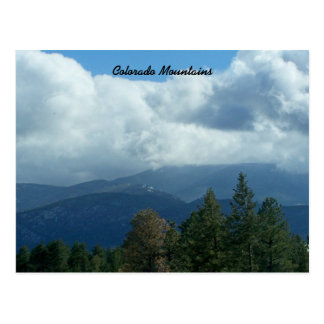 Colorado Mountains Postcard