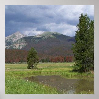 Colorado Mountains Poster
