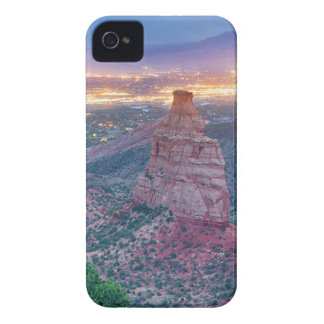 Colorado_National _Monument_City_Lights iPhone 4 Case-Mate Cases