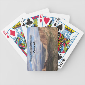 Colorado National Monument, CO Bicycle Playing Cards