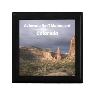 Colorado National Monument, CO Gift Box