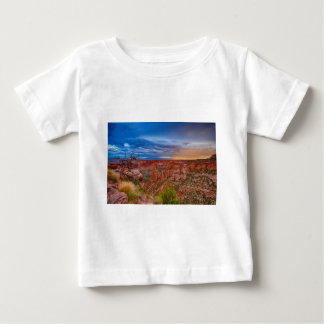 Colorado National Monument Evening Storms Baby T-Shirt