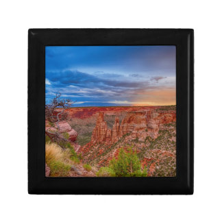Colorado National Monument Evening Storms Gift Boxes