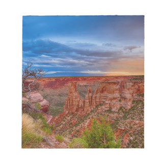 Colorado National Monument Evening Storms Notepad