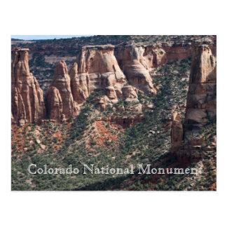 Colorado National Monument Travel Postcard