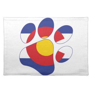 Colorado Pet Paw Placemat