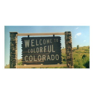 Colorado Custom Photo Card
