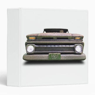 Colorado Pickup Truck Toasted Autos 3 ring Binder