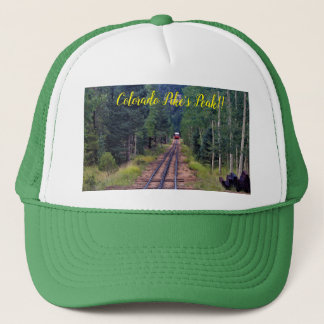 Colorado Pike's Peak TRUCKER'S HAT. Trucker Hat