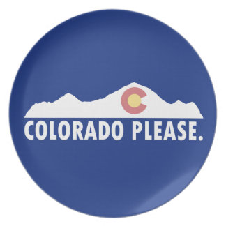 Colorado Please Plate