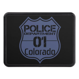 Colorado Police Department Shield 01 Tow Hitch Covers