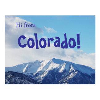 Colorado! Postcard