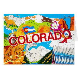 Colorado Postcard from 1985