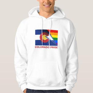 Colorado Pride LGBTQ Rainbow Flag Hoodie
