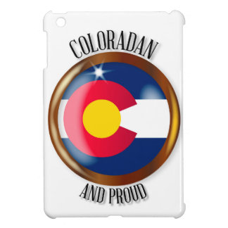 Colorado Proud Flag Button Cover For The iPad Mini