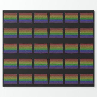 Colorado Rainbow Pride Flag Mosaic