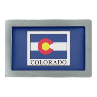Colorado Rectangular Belt Buckles