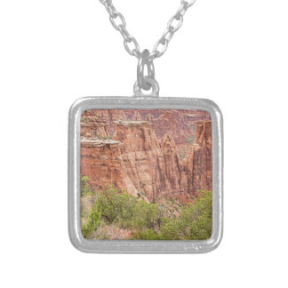 Colorado Red Rock Country Silver Plated Necklace