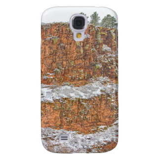 Colorado Red Sandstone Country Dusted with Snow HTC Vivid / Raider 4G Case