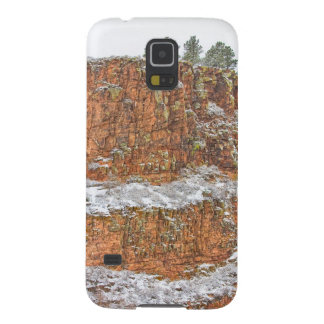 Colorado Red Sandstone Country Dusted with Snow Galaxy Nexus Covers