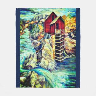 Colorado River Fleece Blanket