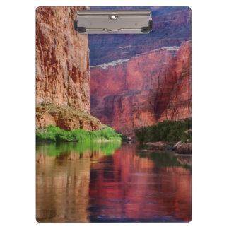 Colorado river in Grand Canyon, AZ Clipboard