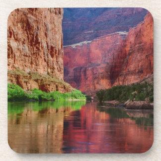 Colorado river in Grand Canyon, AZ Drink Coasters