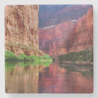 Colorado river in Grand Canyon, AZ Stone Beverage Coaster