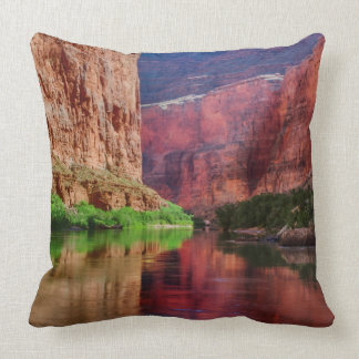 Colorado river in Grand Canyon, AZ Throw Pillow