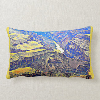 Colorado River in Grand Canyon Throw Pillow