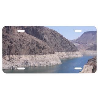 Colorado River License Plate
