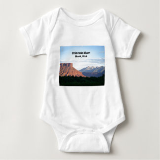 Colorado River, Moab, UT Baby Bodysuit