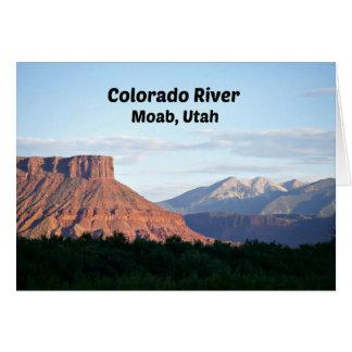 Colorado River, Moab, UT Card