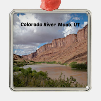Colorado River, Moab, UT Metal Ornament