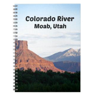 Colorado River, Moab, UT Notebooks