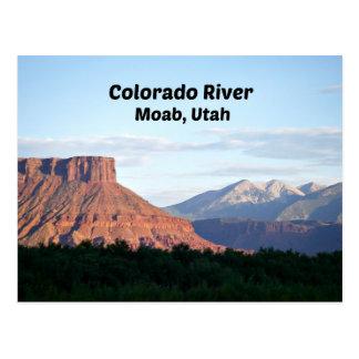 Colorado River, Moab, UT Postcard