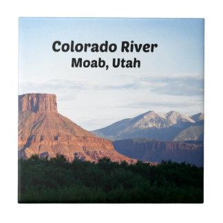 Colorado River, Moab, UT Tile