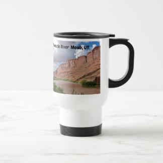 Colorado River, Moab, UT Travel Mug