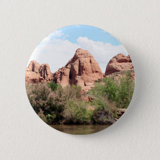 Colorado River near Moab, Utah 1 2 Inch Round Button