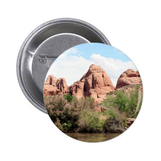 Colorado River near Moab, Utah 1 2 Inch Round Button