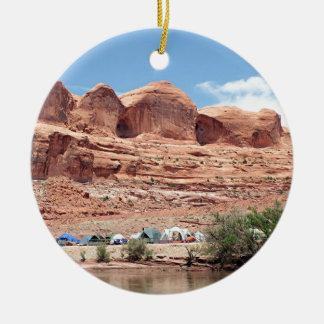 Colorado River near Moab, Utah, USA Ceramic Ornament