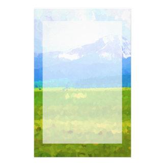 Colorado Rockies Impressionist Stationary Stationery