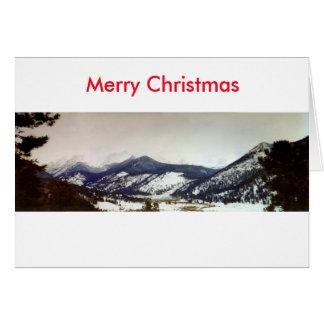 Colorado Rockies Merry Christmas card