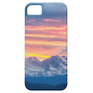 Colorado Rocky Mountain Sunset Waves Of Light Part iPhone 5 Cover