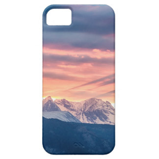 Colorado Rocky Mountain Sunset Waves Of Light Pt 2 Case For The iPhone 5