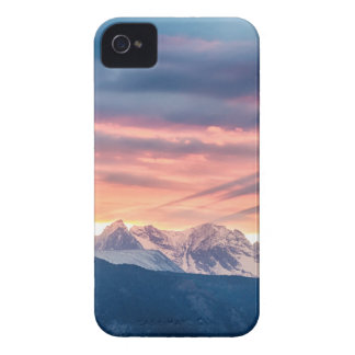 Colorado Rocky Mountain Sunset Waves Of Light Pt 2 iPhone 4 Case-Mate Case