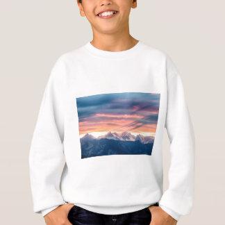 Colorado Rocky Mountain Sunset Waves Of Light Pt 2 Sweatshirt