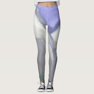 Colorado Rocky Mountains (Abstract Watercolor) Leggings