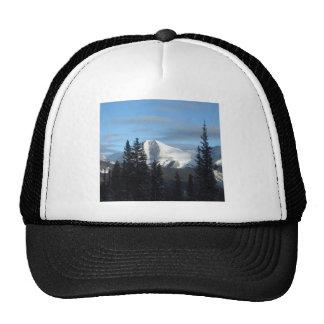 Colorado Rocky Mountains in Winter Trucker Hat